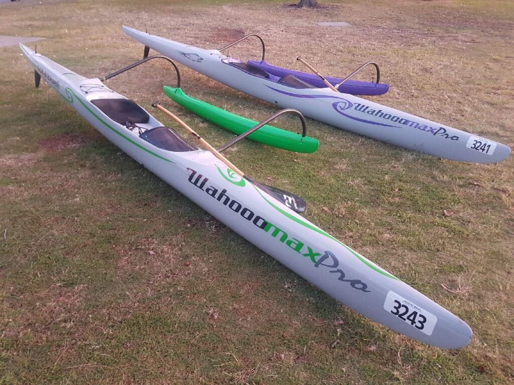 Wahooo MAX Pro - Outrigger Canoes - Ocean Swell Adventure Craft