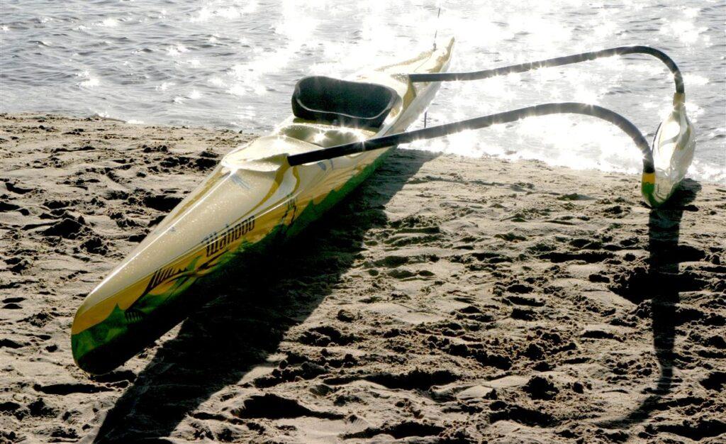 Wahoo OC1 Outrigger Canoe - Ocean Swell Adventure Craft