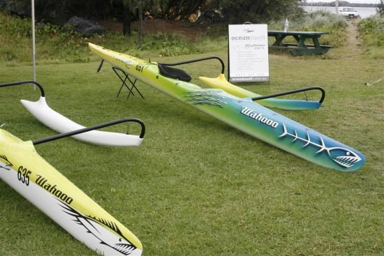 Wahoo OC1 Outrigger Canoe - Ocean Swell Adventure Craft